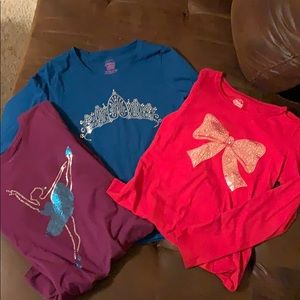 Lot of Long sleeve tees.  Excellent condition